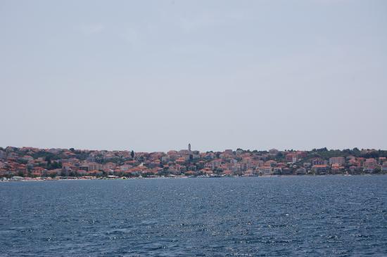 Ciovo Island, Kroatien: Ciovo z morza