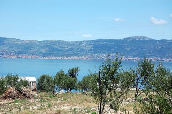 Ciovo Island, Kroatien: Slatine - widok na Split