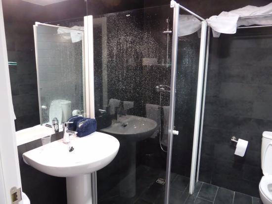 Convento San Francisco : salle de bain après usage