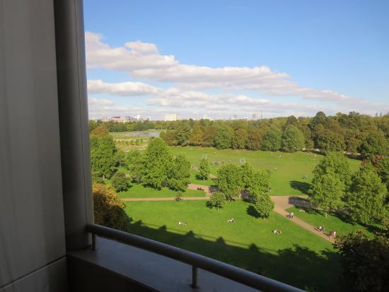 View from Garden King Room - Picture of Royal Garden Hotel, London ...