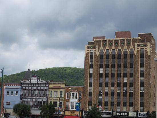 Downtown Bradford Pa