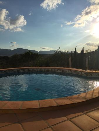 Villanueva del Rosario, İspanya: Swimming pool