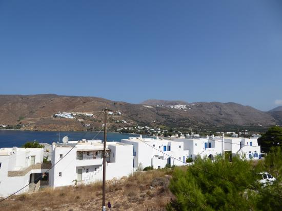 Pelagos Hotel: view from room