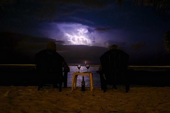 Bodden Town, Gran Caimán: Caribbean storm