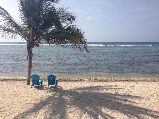 Bodden Town, Grand Cayman: The beach