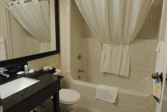 Comfort Inn: bath fine