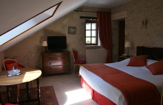 onze rustieke slaapkamer - Foto van Domaine de la Ranconniere et de ...