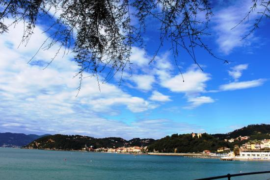 Albergo Hotel Admiral: Herrliche Aussichten in Ligurien!