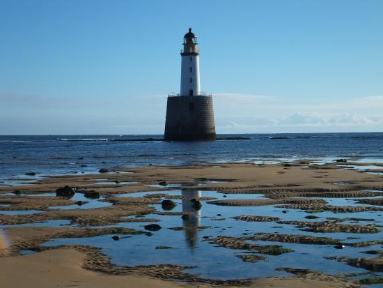 Rattray Head Eco-Hostel: Rattray Head lighthouse
