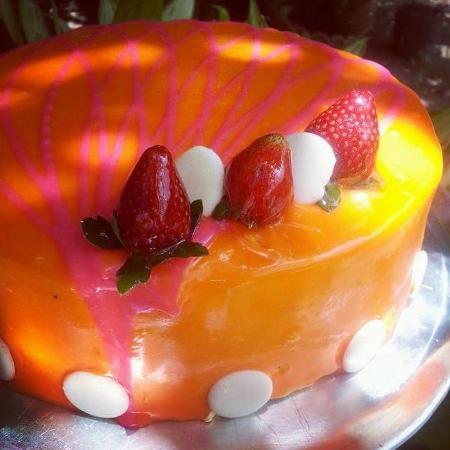 Panaderia y Cafe La Casa de Don Colocho: Este es una prueba de las delicias de la Panaderia Don Colocho