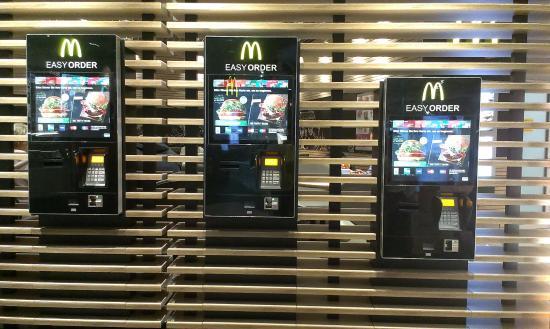 McDonalds im Flughafen