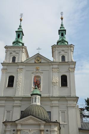 St. Florian's Church: Fachada