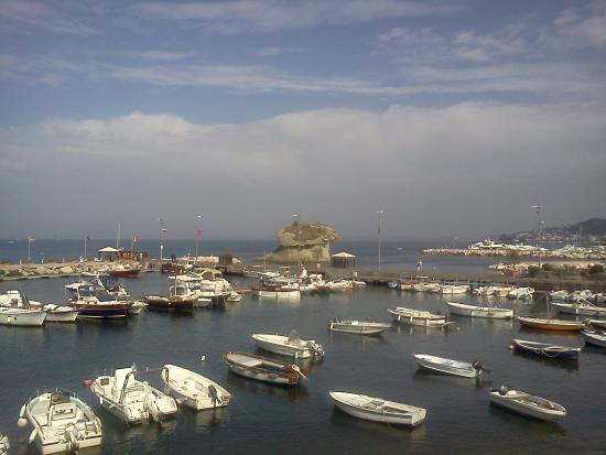 La Sirenella: Вид с балкона нашего номера