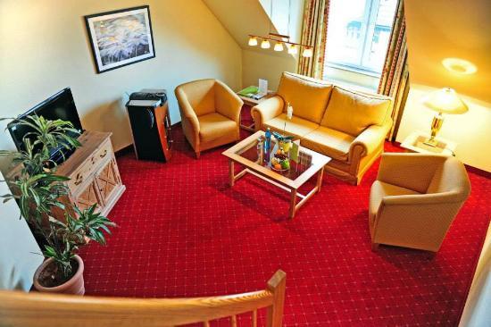 Dreiklang Business & Spa Resort: Vår svit i två plan