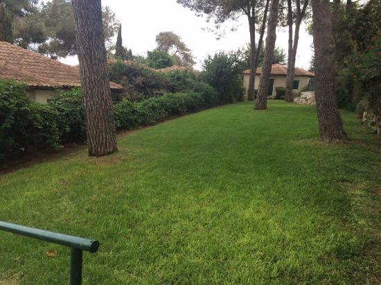 Shoresh, Izrael: מדשאות מחוץ לחדר