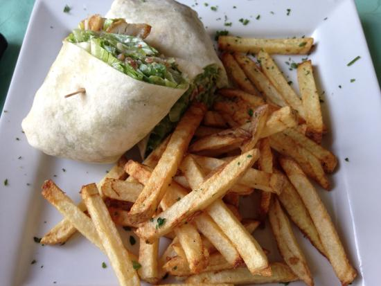 Merrickville, Καναδάς: The Ceasar Wrap... simply delicious!