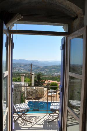 Villa Kerasia: View from the balcony