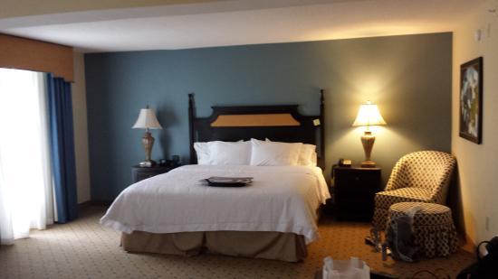 Hampton Inn Murrells Inlet/Myrtle Beach Area: Comfy bed!