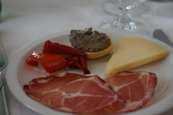 Hotel Ristorante Punto Verde: The free appetizer