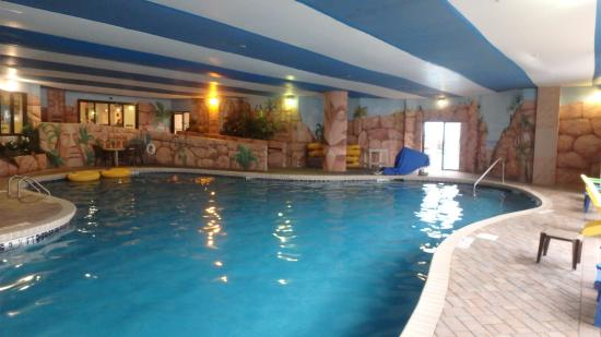 Picture of the patricia grand oceana resorts - Indoor swimming pool myrtle beach sc ...