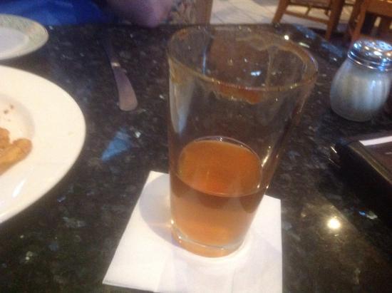 Domenico's Ristorante: Pumpkin beer with vanilla vodka and a caramel sugar around the glass