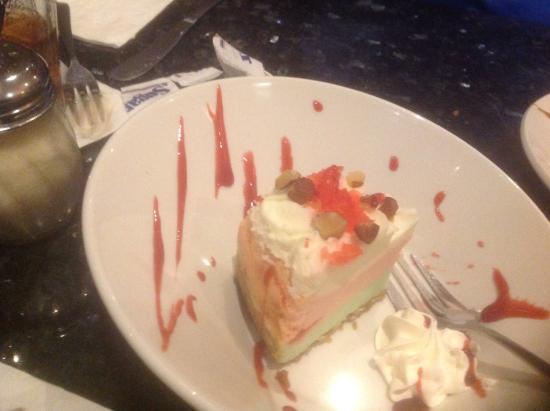 Domenico's Ristorante: Spumoni cheesecake