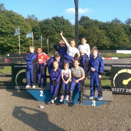 Brentwood Karting: Great party :-)
