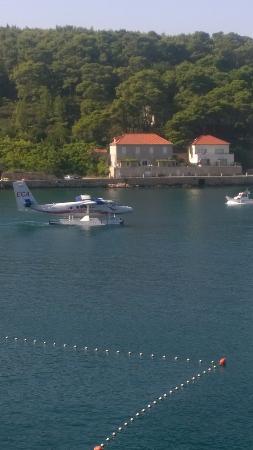 Hotel Hvar: sea plane for jelsa