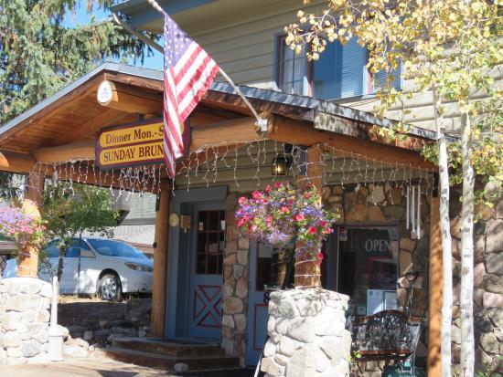 Terrace Inn Grand Lake: Terrace Inn restaurant,
