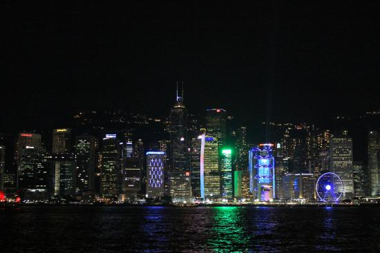 Hongkongs skyline