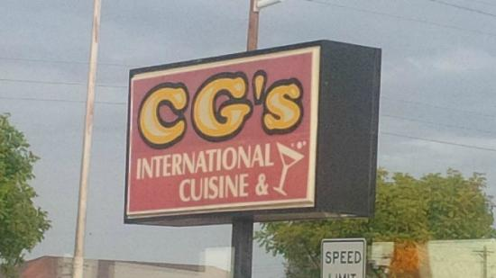 CG's International Cuisine