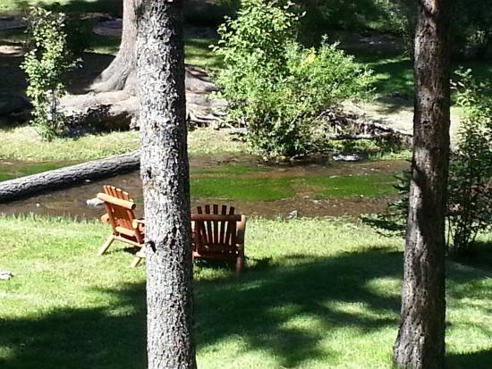 Red Setter, Arizona's Riverside Retreat : view from cabin
