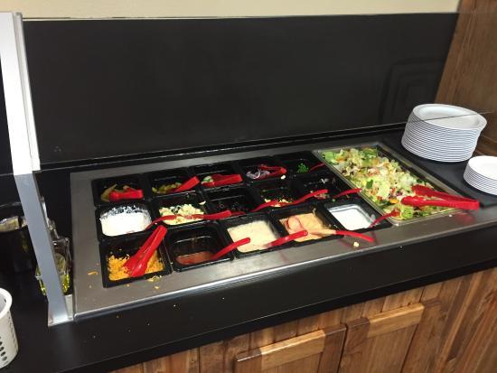 Pea Ridge, Арканзас: Sunday lunch buffet