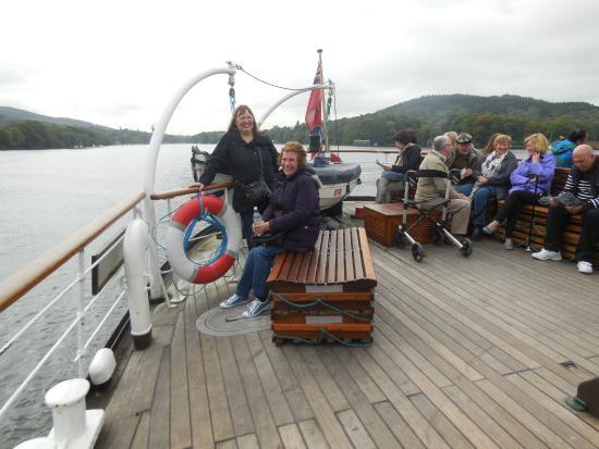 Bowness-on-Windermere, UK: Onboard 'Swan'