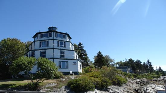 Sebasco Estates, ME: Lighthouse