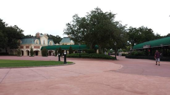Disney S Beach Club Resort Epcot Entrance Into World Showcase