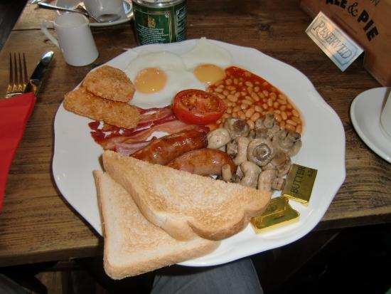 Full English Breakfast Picture Of The Red Lion London Tripadvisor