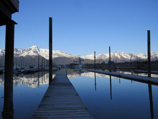 Seward, Alaska - Kenai Fjords Tour - This is the area the boats depart from.