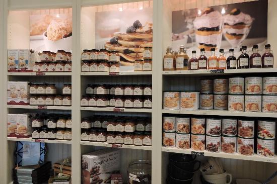 stonewall kitchen jam section picture of stonewall kitchen cafe rh tripadvisor co za