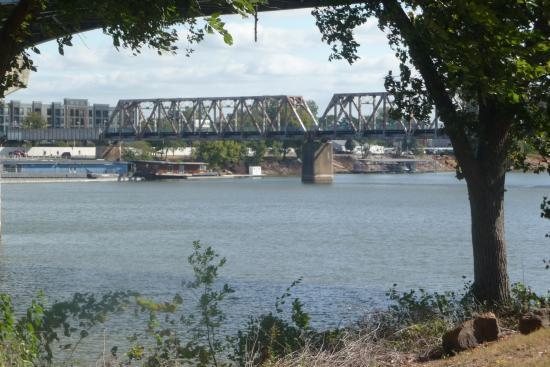 The Arkansas River Trail: Bridge view from trail
