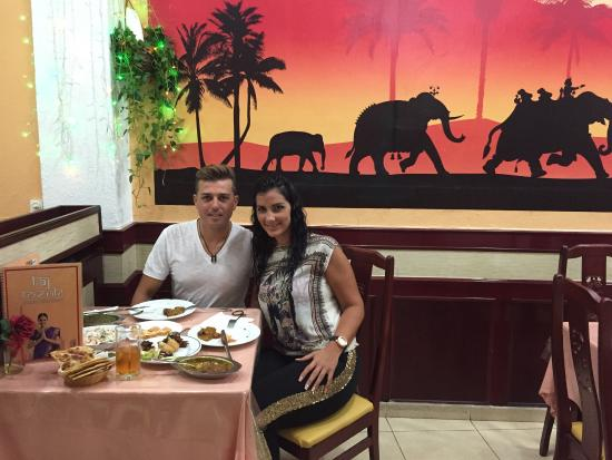 Taj Tenerife Indian Restaurant: 03/10/2015 Trabajos  en Taj Tenerife ☺️🙏👌😋😋