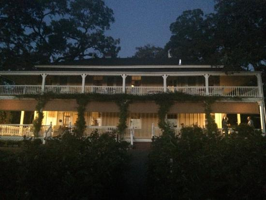 Beltane Ranch: The Ranch at night