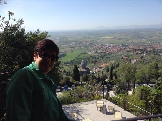 Hotel San Luca: Vista meravigliosa