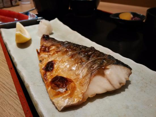 Kiku-Zakura Japanese Restaurant: Saba set meal