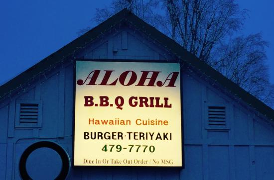 Aloha BBQ Grill: Off-street parking is easily accessible, safe & convenient.