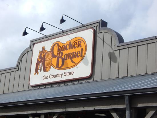 Cracker Barrel: love the food