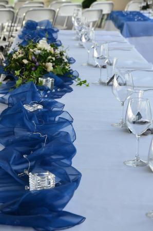 Gisborne, New Zealand: Bride's Table