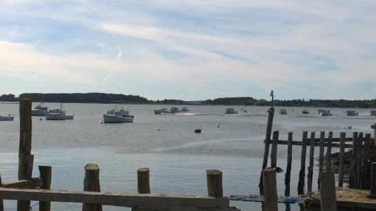 South Thomaston, ME: harbor view