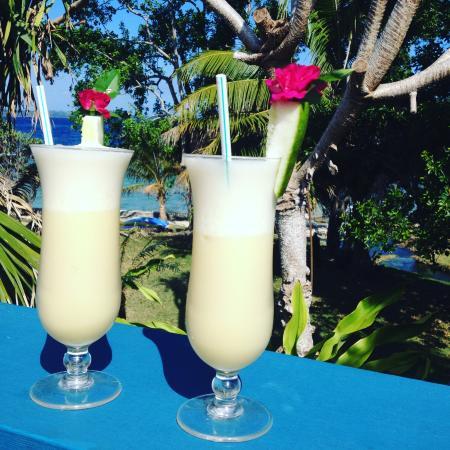 Benjor Beach Club: Cocktails on the deck