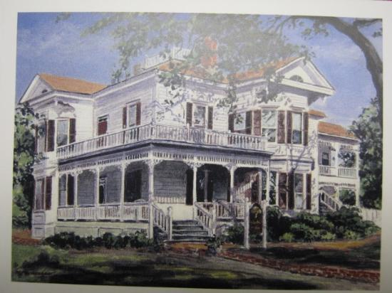 Pecan Tree Inn: Postcard of the inn
